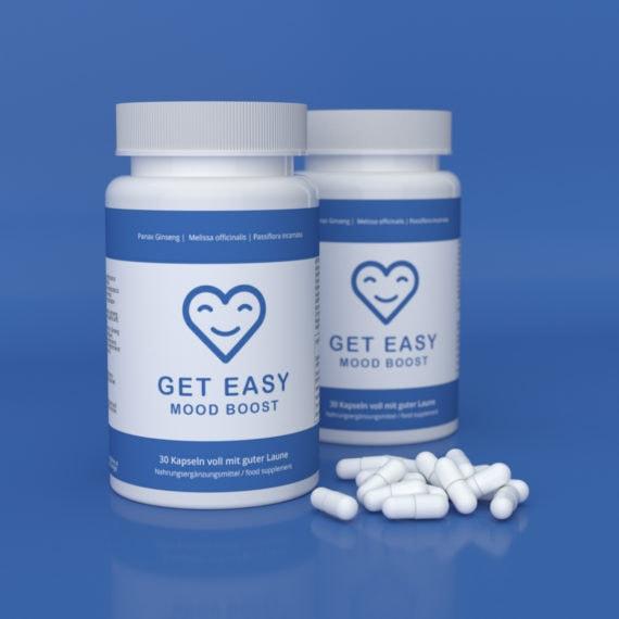 Get Easy Mood Booster ist Dein Booster für mehr gute Laune & Motivation